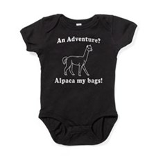 An Adventure? Alpaca my bags! Baby Bodysuit