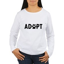 Adopt dogs Long Sleeve T-Shirt