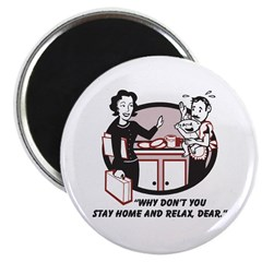 Humorous gifts for mom & dad Magnet