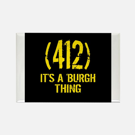 Funny Yinzer Rectangle Magnet