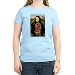 Mona's Ruby Cavalier Women's Light T-Shirt