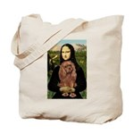 Mona's Ruby Cavalier Tote Bag