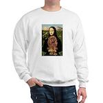 Mona's Ruby Cavalier Sweatshirt