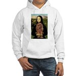 Mona's Ruby Cavalier Hooded Sweatshirt