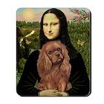 Mona's Ruby Cavalier Mousepad