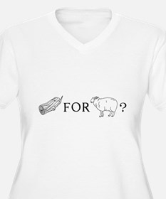 Wood for sheep T-shirts Plus Size T-Shirt