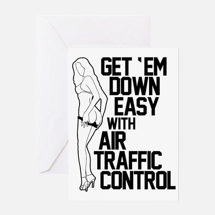Get Em Down ATC Greeting Card