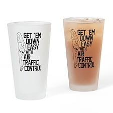Get Em Down ATC Drinking Glass