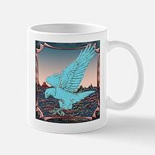 Turquoise Eagle At Dawn Mug