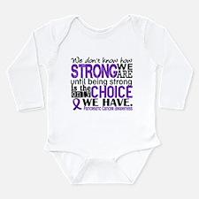 Pancreatic Cancer HowS Long Sleeve Infant Bodysuit