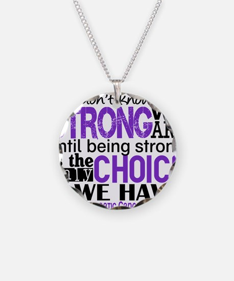 Pancreatic Cancer HowStrongW Necklace