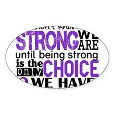 Pancreatic Cancer HowStrongWeAre Decal