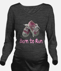 Jog Long Sleeve Maternity T-Shirt