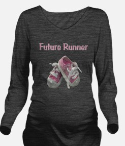 Unique Jog Long Sleeve Maternity T-Shirt