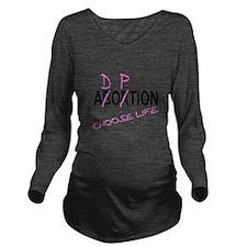 Unique Birth plan Long Sleeve Maternity T-Shirt
