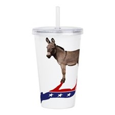 Dem Donkey Shadow Acrylic Double-wall Tumbler