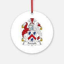 Forsyth Ornament (Round)