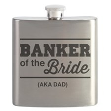 Banker of the bride aka dad Flask