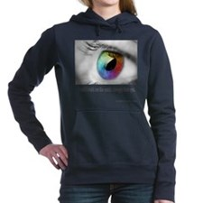 I wish I could see Women's Hooded Sweatshirt