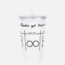 How Boobs got their name Acrylic Double-wall Tumbl