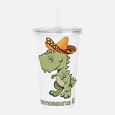 Tyrannosaurus Mex Acrylic Double-wall Tumbler