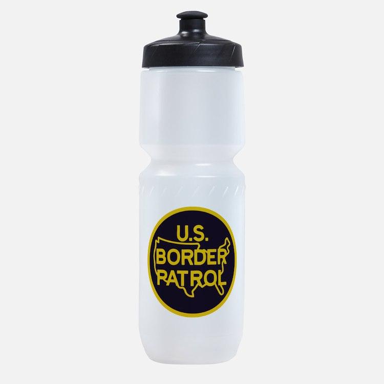 Border Patrol Sports Bottle