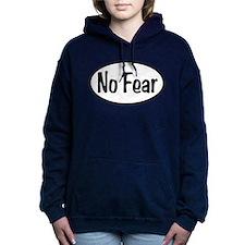 No Fear Oval Women's Hooded Sweatshirt