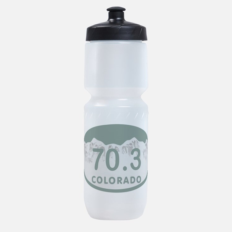 70.3 Colo License Plate Sports Bottle