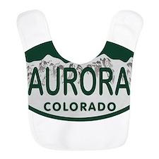 Aurora Colo License Plate Bib