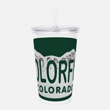 Cool State license Acrylic Double-wall Tumbler