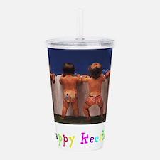 Happy Keester Acrylic Double-wall Tumbler