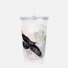 Flying Crow Acrylic Double-wall Tumbler