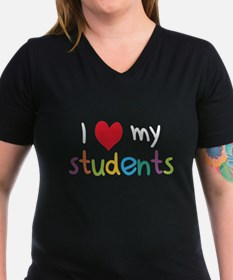 I Heart My Students Teacher Love T-Shirt