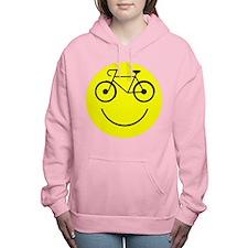 Smiley Cycle Women's Hooded Sweatshirt