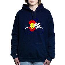 Colorado Cycling Women's Hooded Sweatshirt