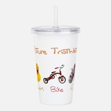 Future Girl Triathlete Acrylic Double-wall Tumbler
