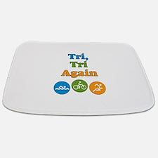tri, tri again Bathmat