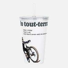 Velo Tout-Terrain Acrylic Double-wall Tumbler