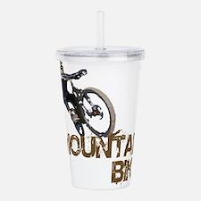 Mountain Bike Acrylic Double-wall Tumbler