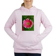 Pink Daisy Women's Hooded Sweatshirt
