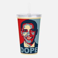 Dope Obama Acrylic Double-wall Tumbler