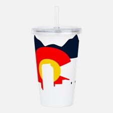 CO_Flag2_Navy.png Acrylic Double-wall Tumbler
