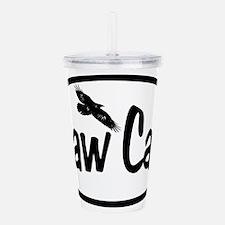 Caw Caw Oval Acrylic Double-wall Tumbler