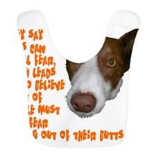 Dogs smell fear Bib