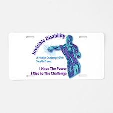 Invisible Aluminum License Plate