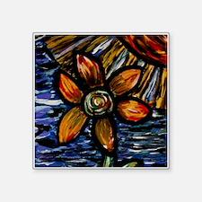 Abstract Flower Sticker