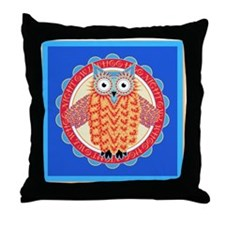 Unique Owl lovers Throw Pillow