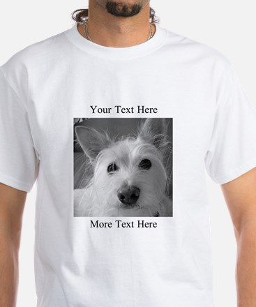 Your Text and Your Photo Here T-Shirt