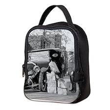 Cute Ford model a Neoprene Lunch Bag
