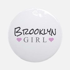 Brooklyn Girl Ornament (Round)